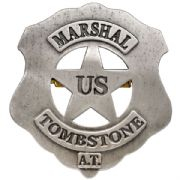 U.S. Marshall Tombstone Badge